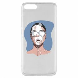 Чехол для Xiaomi Mi Note 3 The girl is doused with milk