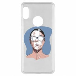 Чехол для Xiaomi Redmi Note 5 The girl is doused with milk