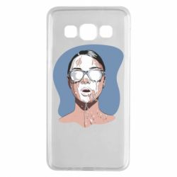 Чохол для Samsung A3 2015 The girl is doused with milk