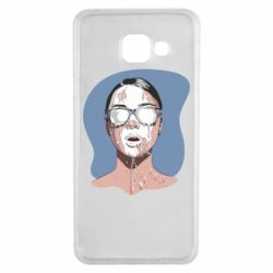Чохол для Samsung A3 2016 The girl is doused with milk