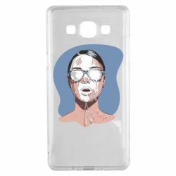 Чохол для Samsung A5 2015 The girl is doused with milk