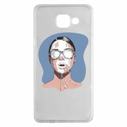 Чохол для Samsung A5 2016 The girl is doused with milk