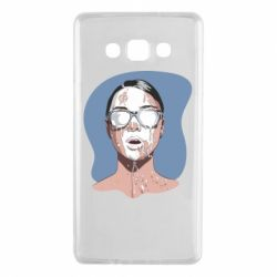 Чохол для Samsung A7 2015 The girl is doused with milk