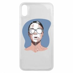 Чохол для iPhone Xs Max The girl is doused with milk
