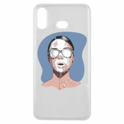 Чохол для Samsung A6s The girl is doused with milk