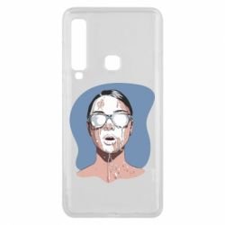 Чохол для Samsung A9 2018 The girl is doused with milk