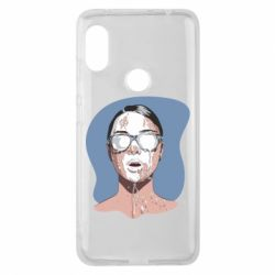 Чехол для Xiaomi Redmi Note 6 Pro The girl is doused with milk