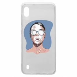Чохол для Samsung A10 The girl is doused with milk