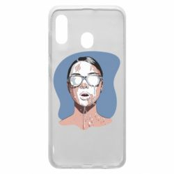 Чохол для Samsung A30 The girl is doused with milk