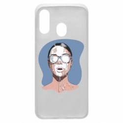 Чохол для Samsung A40 The girl is doused with milk