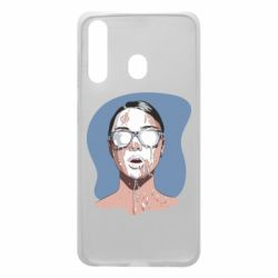 Чохол для Samsung A60 The girl is doused with milk
