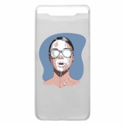 Чохол для Samsung A80 The girl is doused with milk