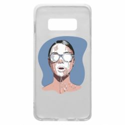 Чохол для Samsung S10e The girl is doused with milk