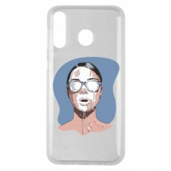 Чохол для Samsung M30 The girl is doused with milk