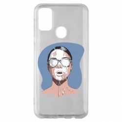 Чохол для Samsung M30s The girl is doused with milk