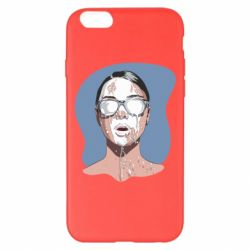 Чохол для iPhone 6 Plus/6S Plus The girl is doused with milk