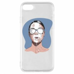 Чохол для iPhone 7 The girl is doused with milk