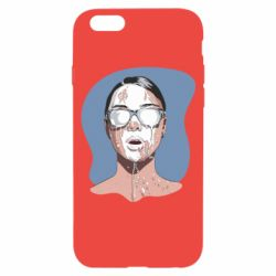 Чохол для iPhone 6/6S The girl is doused with milk