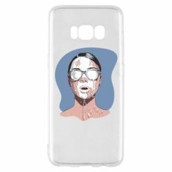 Чохол для Samsung S8 The girl is doused with milk