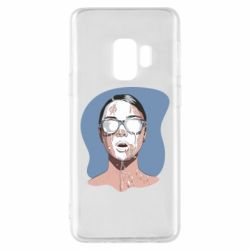 Чохол для Samsung S9 The girl is doused with milk