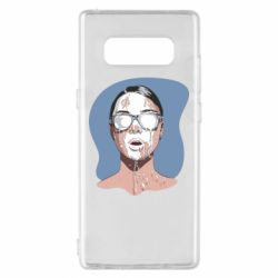 Чохол для Samsung Note 8 The girl is doused with milk