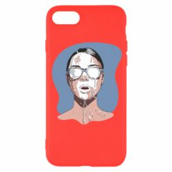 Чохол для iPhone 8 The girl is doused with milk