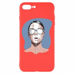 Чохол для iPhone 8 Plus The girl is doused with milk