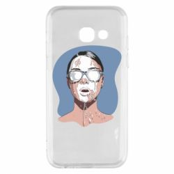 Чохол для Samsung A3 2017 The girl is doused with milk