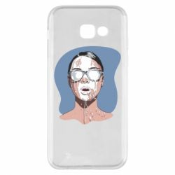 Чохол для Samsung A5 2017 The girl is doused with milk