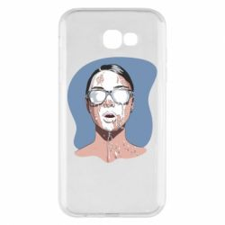 Чохол для Samsung A7 2017 The girl is doused with milk