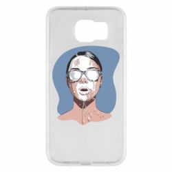 Чохол для Samsung S6 The girl is doused with milk
