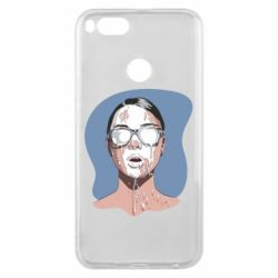 Чехол для Xiaomi Mi A1 The girl is doused with milk