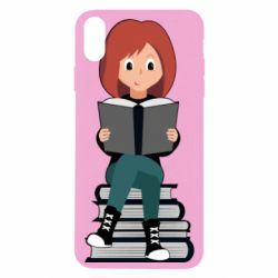 Чохол для iPhone Xs Max The girl is reading