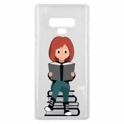 Чохол для Samsung Note 9 The girl is reading