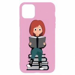 Чохол для iPhone 11 Pro The girl is reading