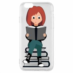 Чохол для iPhone 6/6S The girl is reading