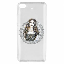 Чехол для Xiaomi Mi 5s The girl on the background of lace