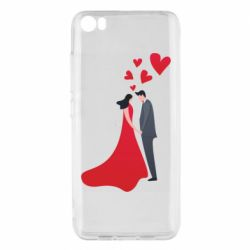 Чехол для Xiaomi Mi5/Mi5 Pro The guy and the girl in the red dress love