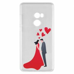 Чехол для Xiaomi Mi Mix 2 The guy and the girl in the red dress love
