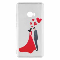 Чехол для Xiaomi Mi Note 2 The guy and the girl in the red dress love