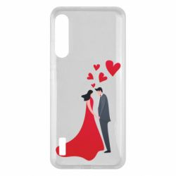 Чохол для Xiaomi Mi A3 The guy and the girl in the red dress love
