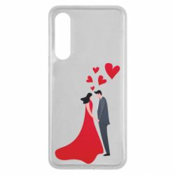 Чехол для Xiaomi Mi9 SE The guy and the girl in the red dress love