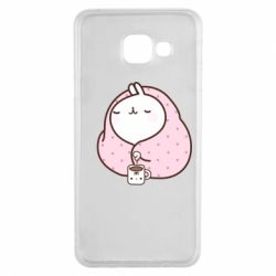 Чехол для Samsung A3 2016 The Hare in the blanket