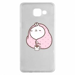 Чехол для Samsung A5 2016 The Hare in the blanket