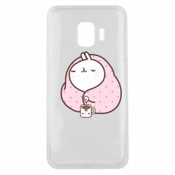 Чехол для Samsung J2 Core The Hare in the blanket