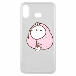 Чехол для Samsung A6s The Hare in the blanket