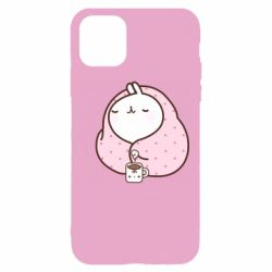 Чехол для iPhone 11 Pro Max The Hare in the blanket