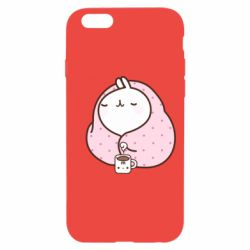 Чехол для iPhone 6/6S The Hare in the blanket
