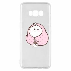 Чехол для Samsung S8 The Hare in the blanket
