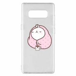 Чехол для Samsung Note 8 The Hare in the blanket